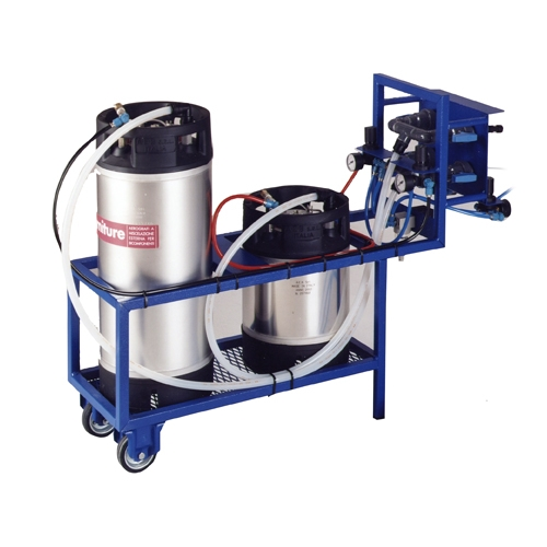 Water based glueing systems eco personal spraying system